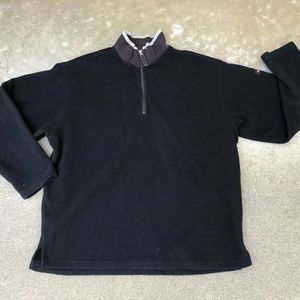 Abercrombie & Fitch VTG 1/4 Zip Pullover Sweater L